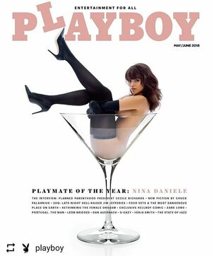 #Repost @playboy with @instatool The votes are in. Join us in congratulating our new 2018 Playmate of the Year @ninamariedaniele! 📸🇺🇸 @jenniferstenglein #playmate #ninamariedaniele #rabbit #america #americanmodels #hughhefner #fashion  #beauty #model #photos  #celebrity#brunette #famous #glamour #woman #girl #prettygirls #session #poland #warszawa #trojmiasto #wroclaw #lodz #krakow #poznan #szczecin #katowice #bydgoszcz
