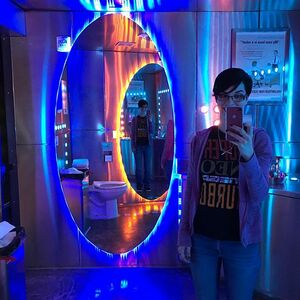 I'm commemorating today's #TBT to the last time I visited the @gamegrumps office because I plan on visiting again soon. Now that's pooping with portals. 👉😎👉